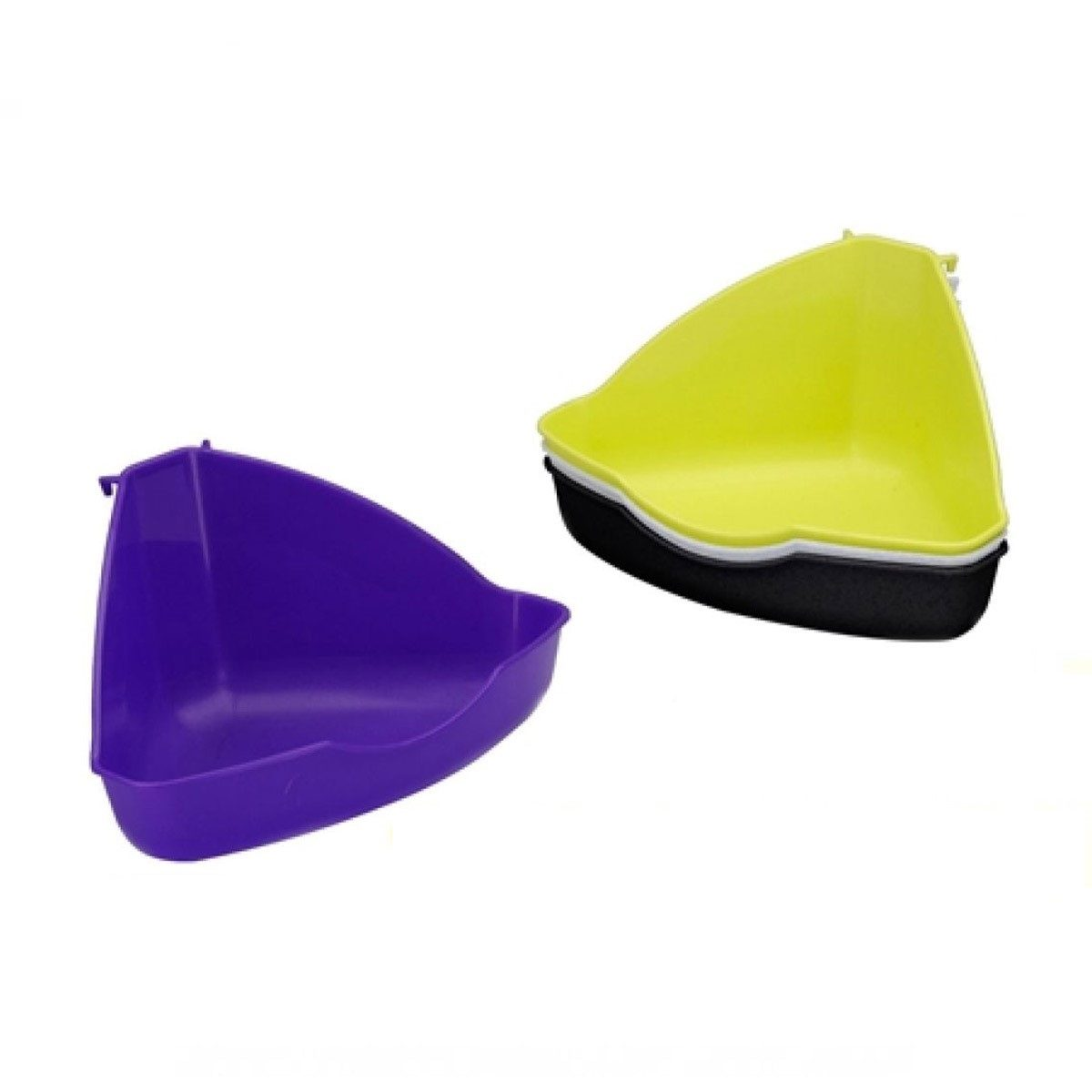 Hoektoilet Voor Kooien Plastic Discus